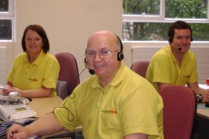 Good Morning Service telephone team March 2013