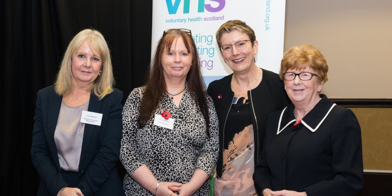 VHS team at policy event