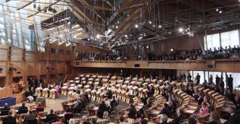 Scottish Parliament Chamber image