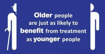 Older people are just as likely to benefit from treatment as younger people