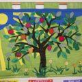 Pilton logo as a colourful quilt